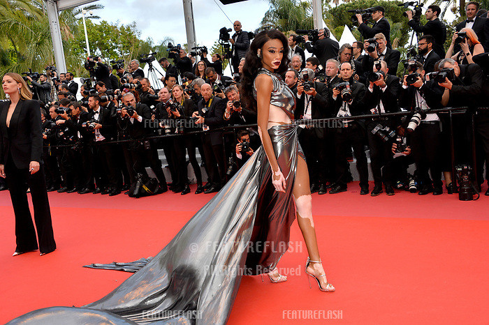 Winnie Harlow at the gala screening for &quot;Solo: A Star Wars Story&quot; at the 71st Festival de Cannes, Cannes, France 15 May 2018<br /> Picture: Paul Smith/Featureflash/SilverHub 0208 004 5359 sales@silverhubmedia.com