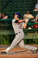 Jean Luc Blaquiere (13) of the St. Lucie Mets during a game vs. the Daytona Cubs May 17 2010 at Jackie Robinson Ballpark in Daytona Beach, Florida. St. Lucie won the game against Daytona by the score of 5-2.  Photo By Scott Jontes/Four Seam Images