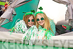 Ellen Lenihan, Niamh Ferris enjoying the 2014 Tralee St. Patrick's Day Parade