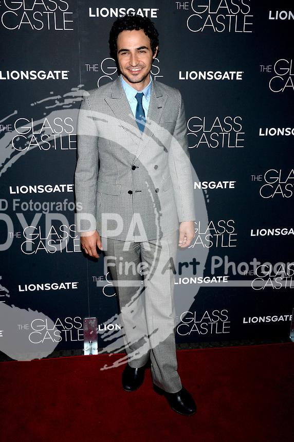 Zac Posen bei der Premiere des Kinofilms 'The Glass Castle / Schloss aus Glas' im SVA Theater. New York, 09.08.2017