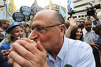 05.10.2018 - Alckmin faz caminhada no centro de SP