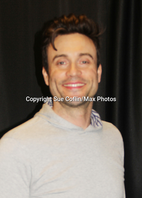 The Young and The Restless actor Daniel Goddard on February 16, 2019 for a fan q & a, meet and great with autographs and photo taking hosted by Soap Opera Festival's Joyce Becker at the Hollywood Casino in Columbus, Ohio. (Photos by Sue Coflin/Max Photos)