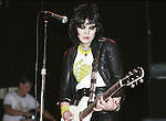Joan Jett 1980 and The Blackhearts<br /> &copy; Chris Walter