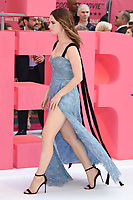 Lily James<br /> at the &quot;Baby Driver&quot; premiere, Cineworld Empire Leicester Square, London. <br /> <br /> <br /> &copy;Ash Knotek  D3285  21/06/2017