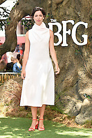 "Rebecca Hall<br /> arrives for the ""BFG"" premiere at the Odeon Leicester Square, London.<br /> <br /> <br /> ©Ash Knotek  D3141  17/07/2016"