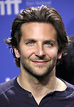 Bradley Cooper  attending the The 2012 Toronto International Film Festival.Photo Call for 'Silver Linings Playbook' at the TIFF Bell Lightbox in Toronto on 9/9/2012