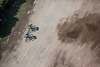 "top view / off-road.<br /> <br /> Antwerp Port Epic 2018 (formerly ""Schaal Sels"")<br /> One Day Race: Antwerp > Antwerp (207km of which 32km are cobbles & 30km is gravel/off-road!)"