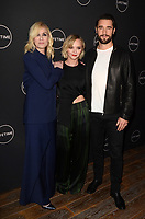 LOS ANGELES - JAN 9:  Judith Light, Christina Ricci, Josh Bowman at the Lifetime Winter Movies Mixer at The Andaz on January 9, 2019 in West Hollywood, CA