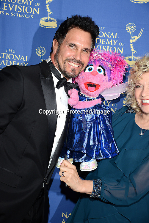 Don Diamont and Abby Caddabi attends the Daytime Creative Arts Emmy Awards Gala on June 20, 2014 at the Westin Bonaventure Hotel in Los Angeles, California. <br /> <br /> photo by Robin Platzer/Twin Images<br /> <br /> 212-935-0770<br /> rplat50374@aol.com