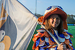 BLOEMENDAAL  - Hockey -  finale KNHB Gold Cup dames, Bloemendaal-HDM . Bloemendaal wint na shoot outs. Missy Mus COPYRIGHT KOEN SUYK