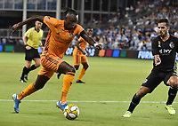 Kansas City, Kansas - Saturday, August 31, 2019:  Sporting Kansas City defeated Houston Dynamo 1-0 during their Major League Soccer (MLS) match at Children's Mercy Park.