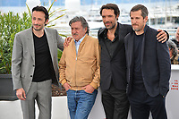 """CANNES, FRANCE. May 21, 2019: Michael Cohen, Daniel Auteuil, Nicolas Bedos & Guillaume Canet at the photocall for """"La Belle Epoque"""" at the 72nd Festival de Cannes.<br /> Picture: Paul Smith / Featureflash"""