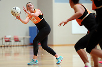 12.12.2018 Silver Ferns Gina Crampton training in Auckland. Mandatory Photo Credit ©Michael Bradley.