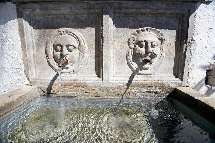 Old fountain, Granada, Spain