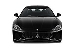 Car photography straight front view of a 2018 Maserati GranTurismo Sport 2 Door Coupe