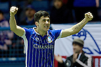 Sheffield Wednesday v Huddersfield Town, 14.1.2017<br /> <br /> EFL Sky Bet Championship<br /> Picture Shaun Flannery/Trevor Smith Photography<br /> <br /> <br /> Wednesday's Fernando Forestieri celebrates his goal.