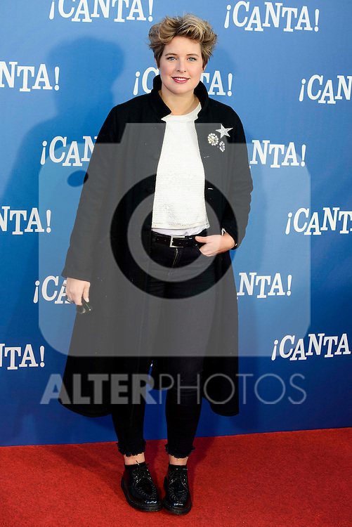 "Tania Laser attends to the premiere of the film ""¡Canta!"" at Cines Capitol in Madrid, Spain. December 18, 2016. (ALTERPHOTOS/BorjaB.Hojas)"