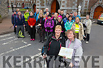 Starting up the new season of the Kerry Camino were Mairead Murphy and Kathleen Giles and Members, Walk in the footsteps of St. Brendan along the Dingle Way on Saturday
