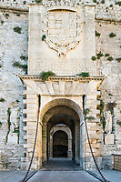 Ses Taules Gate, Fortified Ibiza Old Town, Dalt Vila,  Balearic Islands, Spain, Europe,