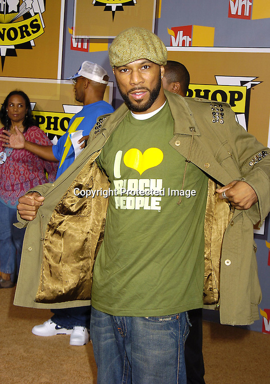 Common ..at the 2nd Annual VH1 Hip Hop Honors taping on ..September 22, 2005 which will air on VH1 on September 26, 2005. ..Photo by Robin Platzer, Twin Images