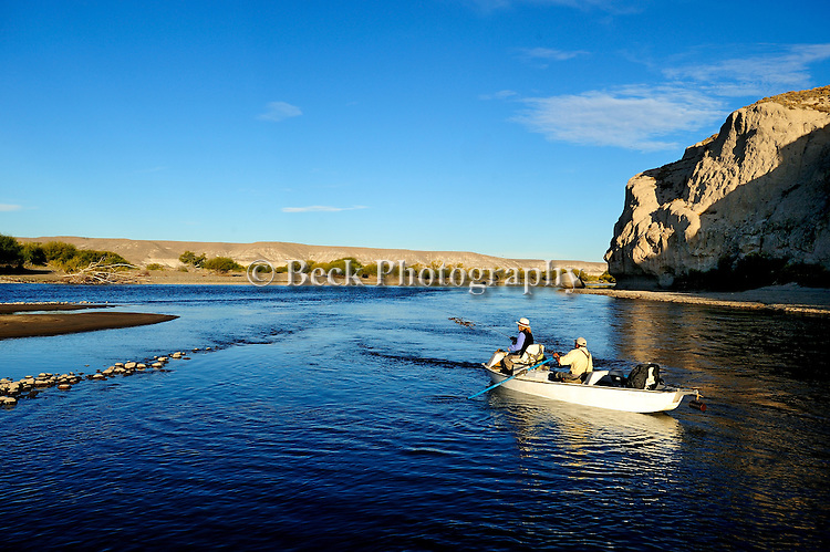Collon Cura River, Patagonia, Argentina