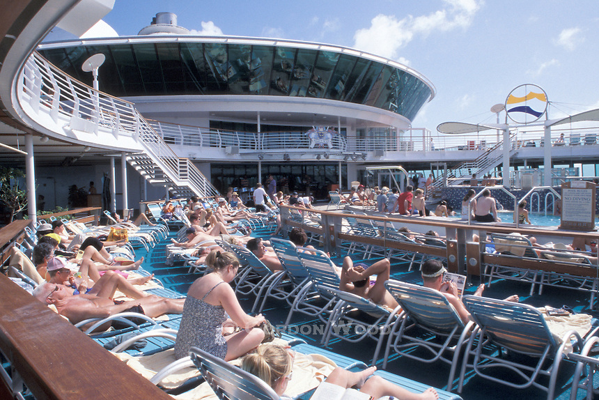Outdoor Pool on Cruise Ship