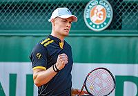 Paris, France, 02 June, 2018, Tennis, French Open, Roland Garros, Deney Wasserman (NED)<br /> Photo: Henk Koster/tennisimages.com