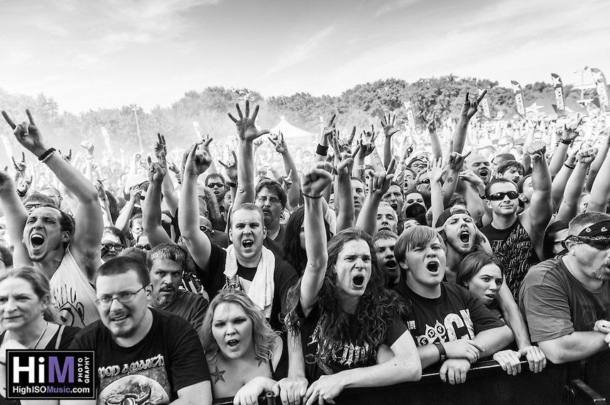 Machine Head at Mayhem Fest 2013 in Atlanta, GA.