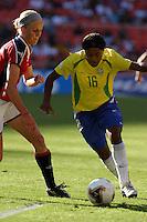 Maicon(Brazil) v Norway.2003WWC Norway v Brazil