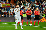 Sergio Ramos of Real Madrid during La Liga match between Real Madrid and CD Leganes at Santiago Bernabeu Stadium in Madrid, Spain. October 30, 2019. (ALTERPHOTOS/A. Perez Meca)