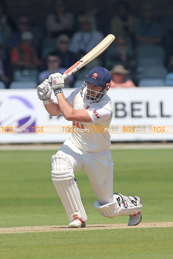 Nick Browne in batting action for Essex during Essex CCC vs Surrey CCC, Specsavers County Championship Division 1 Cricket at The Cloudfm County Ground on 27th May 2017