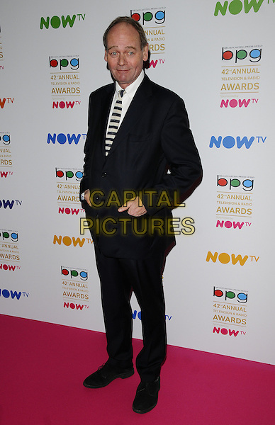 John Lloyd attends the Broadcasting Press Guild ( BPG ) Television &amp; Radio Awards 2016, Theatre Royal Drury Lane, Catherine Street, London, UK, on Friday 11 March 2016.<br /> CAP/CAN<br /> &copy;CAN/Capital Pictures