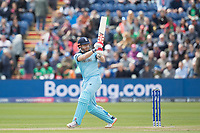 Jonny Bairstow (England) pulls behind the wicket for three runs during England vs Bangladesh, ICC World Cup Cricket at Sophia Gardens Cardiff on 8th June 2019