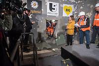 2017/03/22 Berlin | Verkehr | Tunneldurchbruch U-Bahn 5