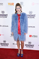 Hermione Corfield<br /> arriving for the World premiere of &quot;Bees Make Honey&quot; at the Vue West End, Leicester Square, London<br /> <br /> <br /> &copy;Ash Knotek  D3314  23/09/2017
