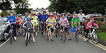 The start of La Tour de Bog annual Ardee cycle. Photo: Colin Bell/pressphotos.ie