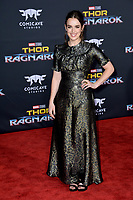 Elizabeth Henstridge at the premiere for &quot;Thor: Ragnarok&quot; at the El Capitan Theatre, Los Angeles, USA 10 October  2017<br /> Picture: Paul Smith/Featureflash/SilverHub 0208 004 5359 sales@silverhubmedia.com