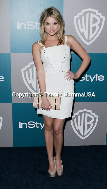 Ashley Benson_1 at  the 13th Annual Warner Bros. and In Style Golden Globe After-Party at the Beverly Hilton In Los Angeles.