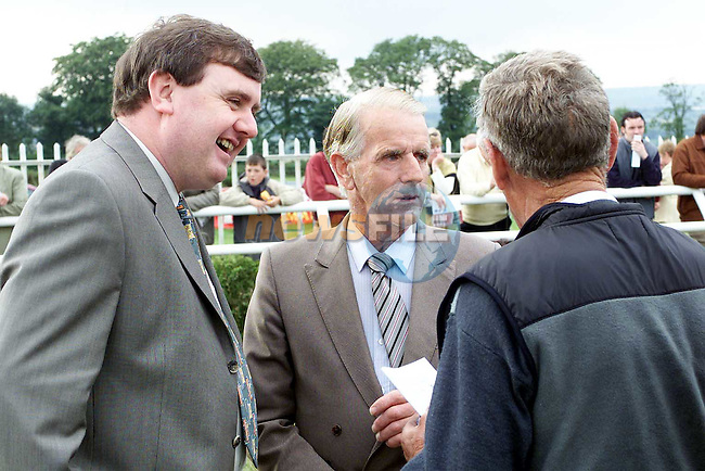 Ger Walsh, MD People Newspapers at the Bellewstown Races..Picture Paul Mohan Newsfile