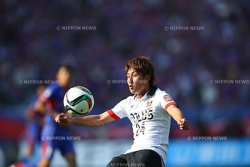 Takahiro Sekine (Reds), OCTOBER 24, 2015 - Football / Soccer : 2015 J1 League 2nd stage match between F.C.Tokyo 3-4 Urawa Red Diamonds at Ajinomoto Stadium in Tokyo, Japan. (Photo by AFLO)