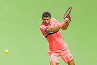 Rotterdam, The Netherlands, 17 Februari, 2018, ABNAMRO World Tennis Tournament, Ahoy, Tennis,  Grigor Dimitrov (BUL)<br /> <br /> Photo: www.tennisimages.com/henk koster