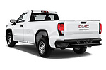 Car pictures of rear three quarter view of a 2019 GMC Sierra 1500 Base 2 Door Pick Up angular rear