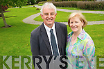 Eddie Sheehy, St Brigids Presentation Killarney and Bernadette Costello, Mercy Mounthawk, Tralee, who are retiring after a total of 70 years service. ......................