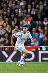 Marco Asensio Willemsen of Real Madrid in action during the UEFA Champions League Semi-final 2nd leg match between Real Madrid and Bayern Munich at the Estadio Santiago Bernabeu on May 01 2018 in Madrid, Spain. Photo by Diego Souto / Power Sport Images