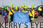 Enjoying the St Patrick's Day parade in Glenbeigh were the Glenbeigh Brownies,l-r Tegan McDonagh, Mia McDonagh, Alissa Finn, Sinead King, Roisín king and Robin Griffin