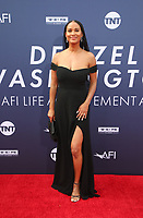 HOLLYWOOD, CA - JUNE 6: Joy Bryant, at The American Film Institute's 47th Life Achievement Award Gala Tribute To Denzel Washington at the Dolby Theatre in Hollywood, California on June 6, 2019.    <br /> CAP/MPI/SAD<br /> ©SAD/MPI/Capital Pictures