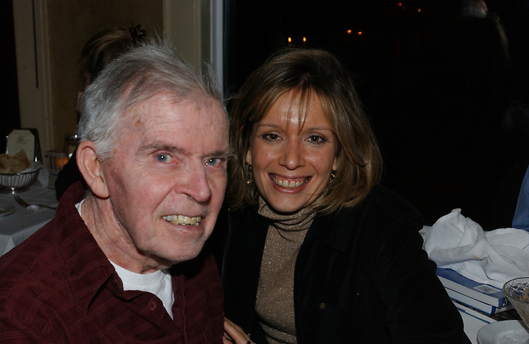 Celebration of 90th Birthday of George Peppler at the Mill Pond House Restaurant in Centerport on Sunday February 20, 2005. (Photo copyright Jim Peppler 2005).