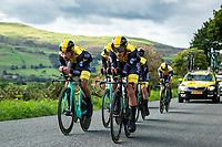 Picture by Alex Whitehead/SWpix.com - 06/09/2018 - Cycling - OVO Energy Tour of Britain - Stage 5 Team Time Trial: Cockermouth to Whinlatter Pass - Team LottoNL-Jumbo win the Team Time Trial. - Primoz Roglic