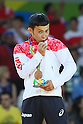 Naohisa Takato (JPN), <br /> AUGUST 6, 2016 - Judo : <br /> Men's -60kg Medal Ceremony <br /> at Carioca Arena 2 <br /> during the Rio 2016 Olympic Games in Rio de Janeiro, Brazil. <br /> (Photo by YUTAKA/AFLO SPORT)