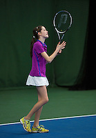 20131201,Netherlands, Almere,  National Tennis Center, Tennis, Winter Youth Circuit,  Natasja Dragic  <br /> Photo: Henk Koster